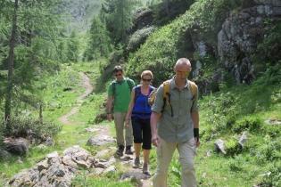 Bergwanderung im Ultental