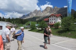 Busausflug in die Dolomiten