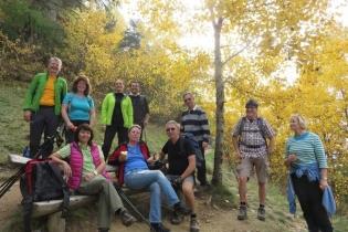 Herbstliche Wanderung am Meraner Höhenweg