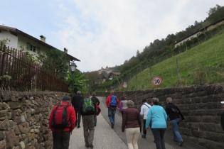 Herbstwanderung im Südtiroler Unterland