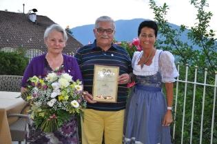 20 Jahre Ehepaar Gafner (CH)