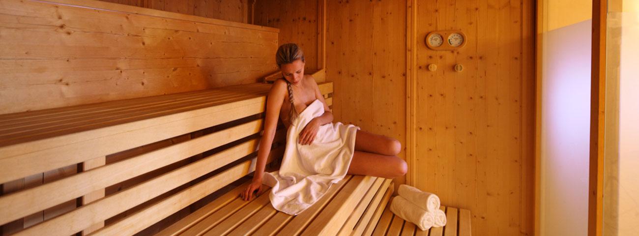 Wellnesshotel in Schenna: Die Saunalandschaft